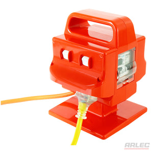 ARLEC Heavy Duty Portable 4 Outlet 10 Amp Safety Switch - PB96 - BNR Industrial