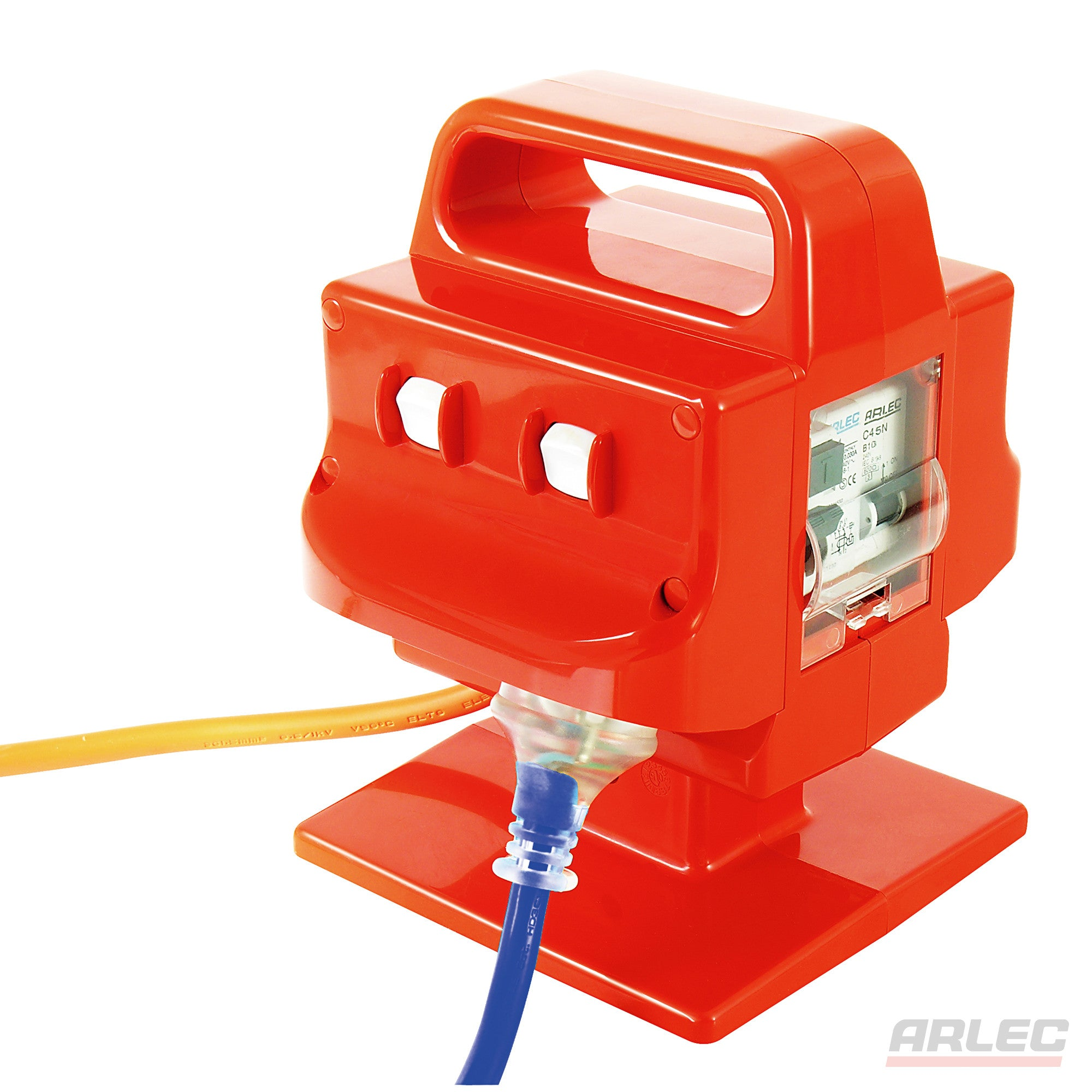 Arlec ARLEC Heavy Duty Portable 4 Outlet 15 Amp Safety Switch - PB97 - BNR Industrial