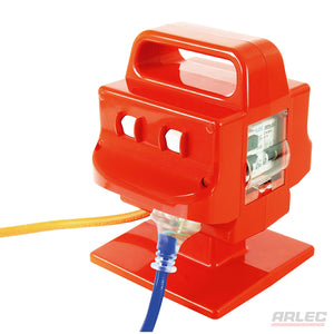 ARLEC Heavy Duty Portable 4 Outlet 15 Amp Safety Switch - PB97 - BNR Industrial