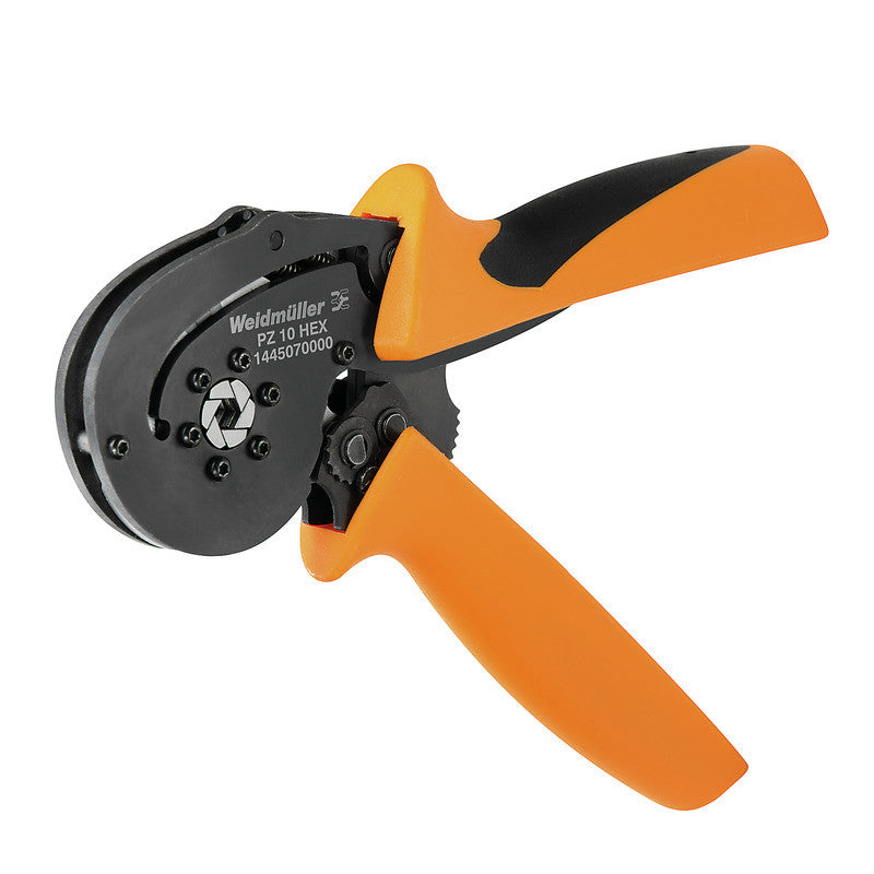 Weidmuller Weidmuller PZ 10 HEX Crimper Large Cross-sections - 0.14 to 10mm² - 1445070000 - BNR Industrial