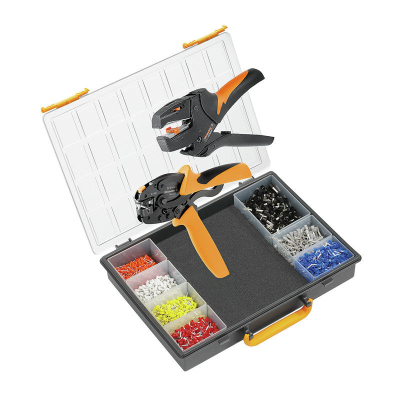 Weidmuller Crimp Set with PZ 6 Roto Crimper and Stripax Wire Stripper - BNR Industrial