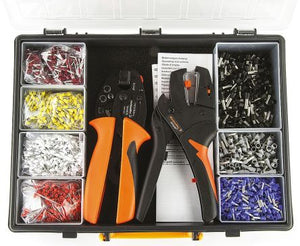 Weidmuller Crimp Set with PZ 6 Roto Crimper and Stripax Wire Stripper