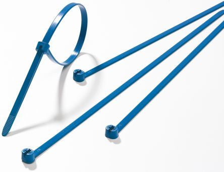 Thomas /& Betts TY527M-NDT Detectable Cable Ties Ty-Rap 100PACK
