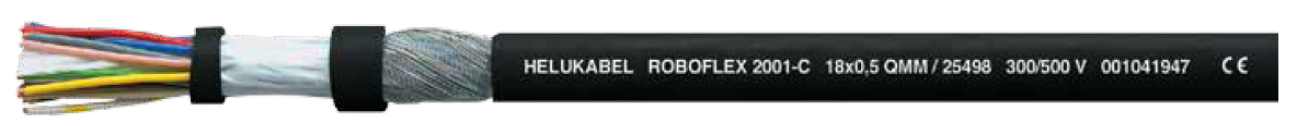 LAPP KABEL HELUKABEL ROBOFLEX 2001 / 2001-C Highly Flexible Robot Cable - BNR Industrial