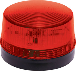 12V/24V 1W Flashing Red or Blue LED Strobe - BNR Industrial