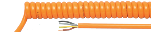 HELUKABEL PUR Orange Spiral Cable - BNR Industrial
