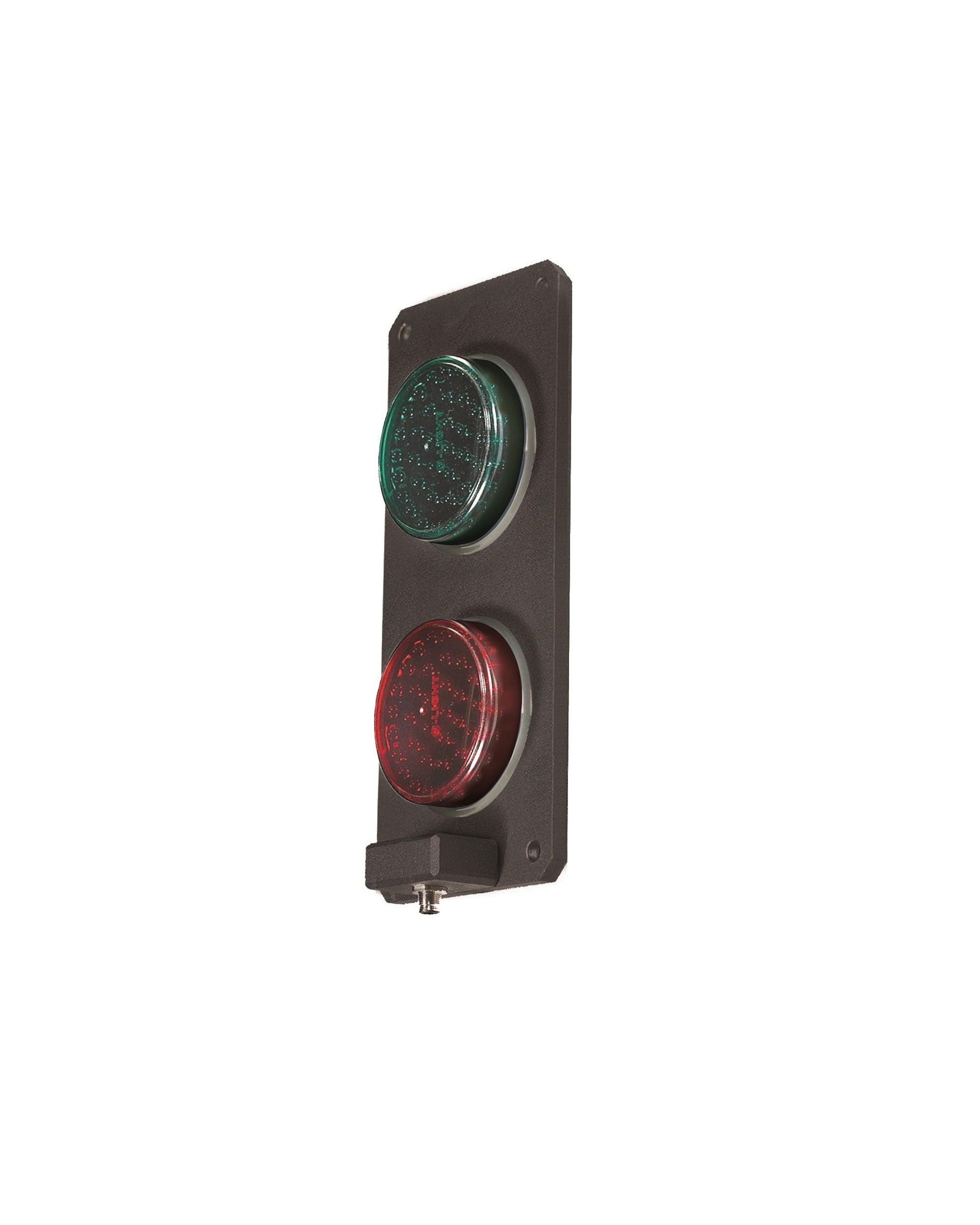 Qlight Qlight SSL200M 2 Aspect 92mm Surface Mount IP68 Metal Body LED Traffic Light - BNR Industrial