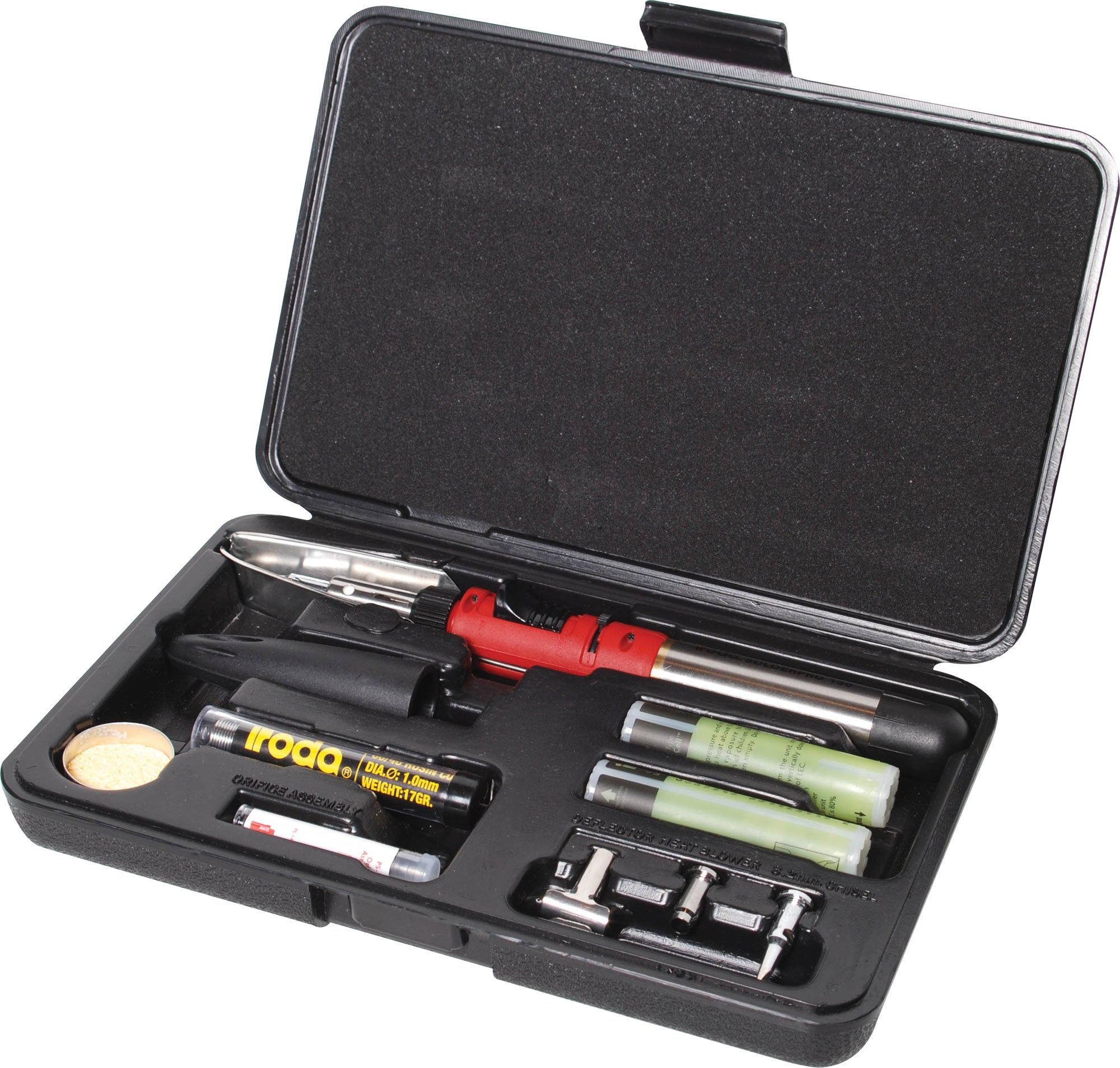 iroda iroda Solderpro 150 125W Gas Soldering Iron Kit - Cartridge Powered - BNR Industrial