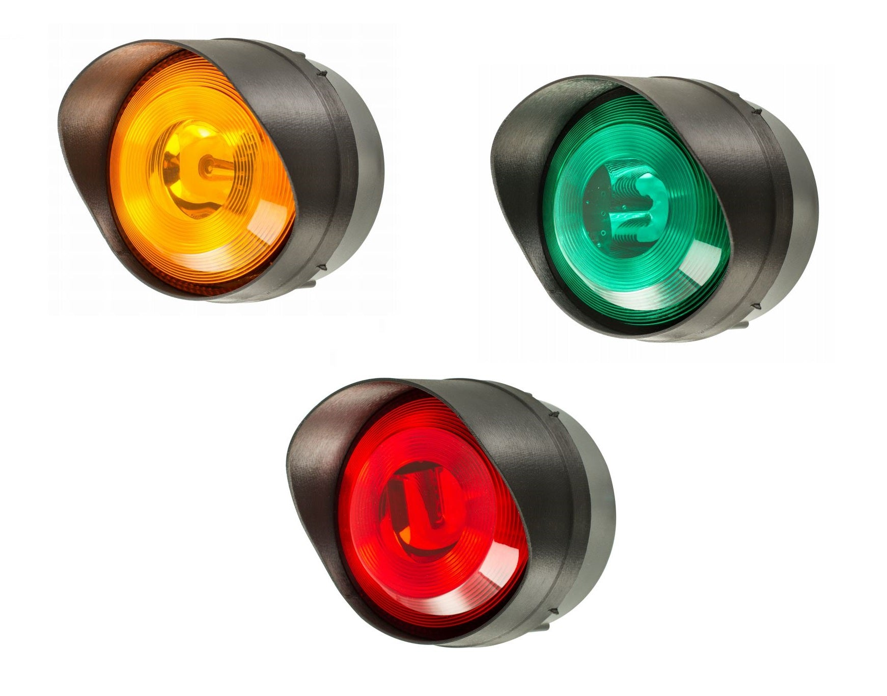 MOFLASH LED TL Series Surface Mount LED Traffic Light Modules