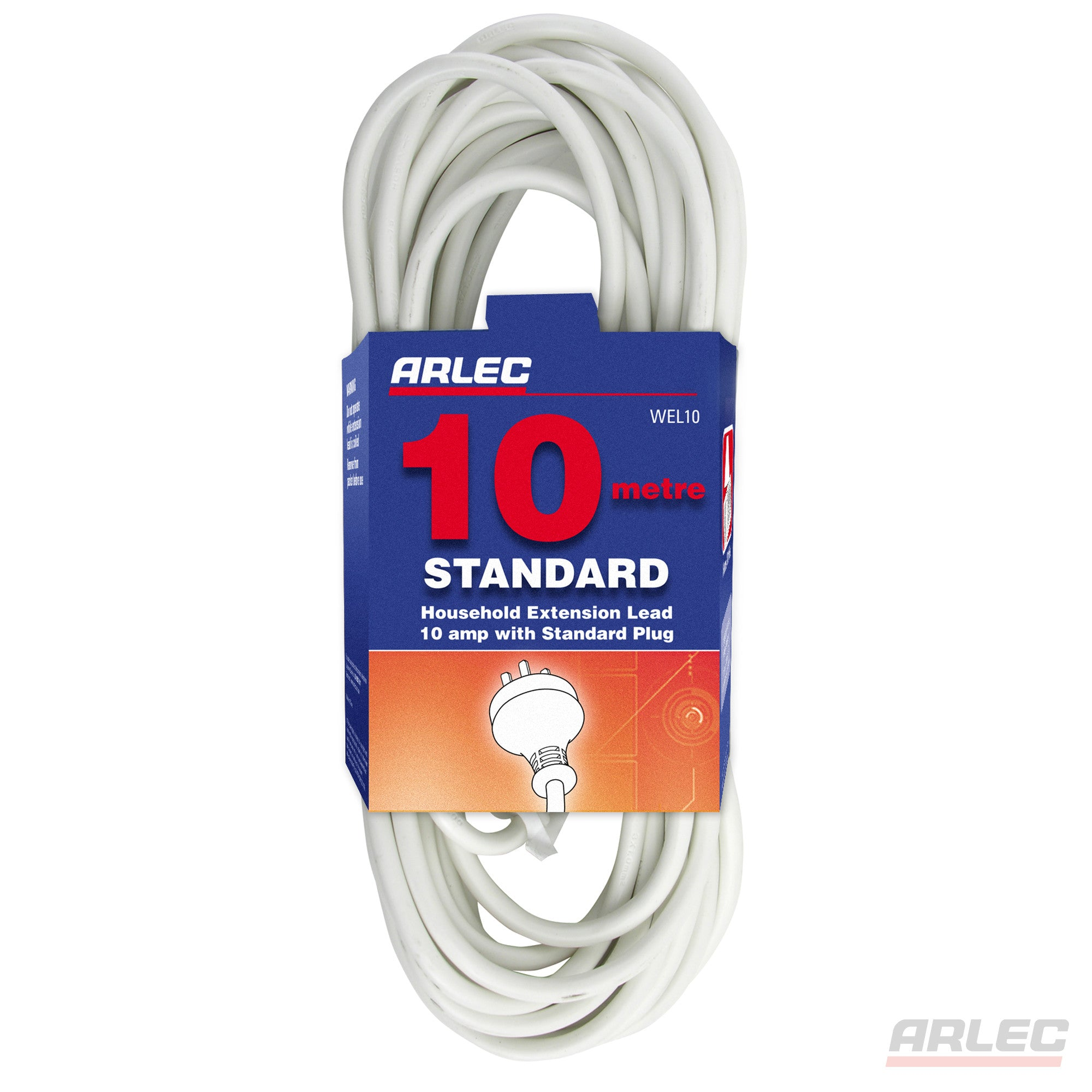 Arlec ARLEC 10 Meter Domestic Extension Lead - WEL10 - BNR Industrial