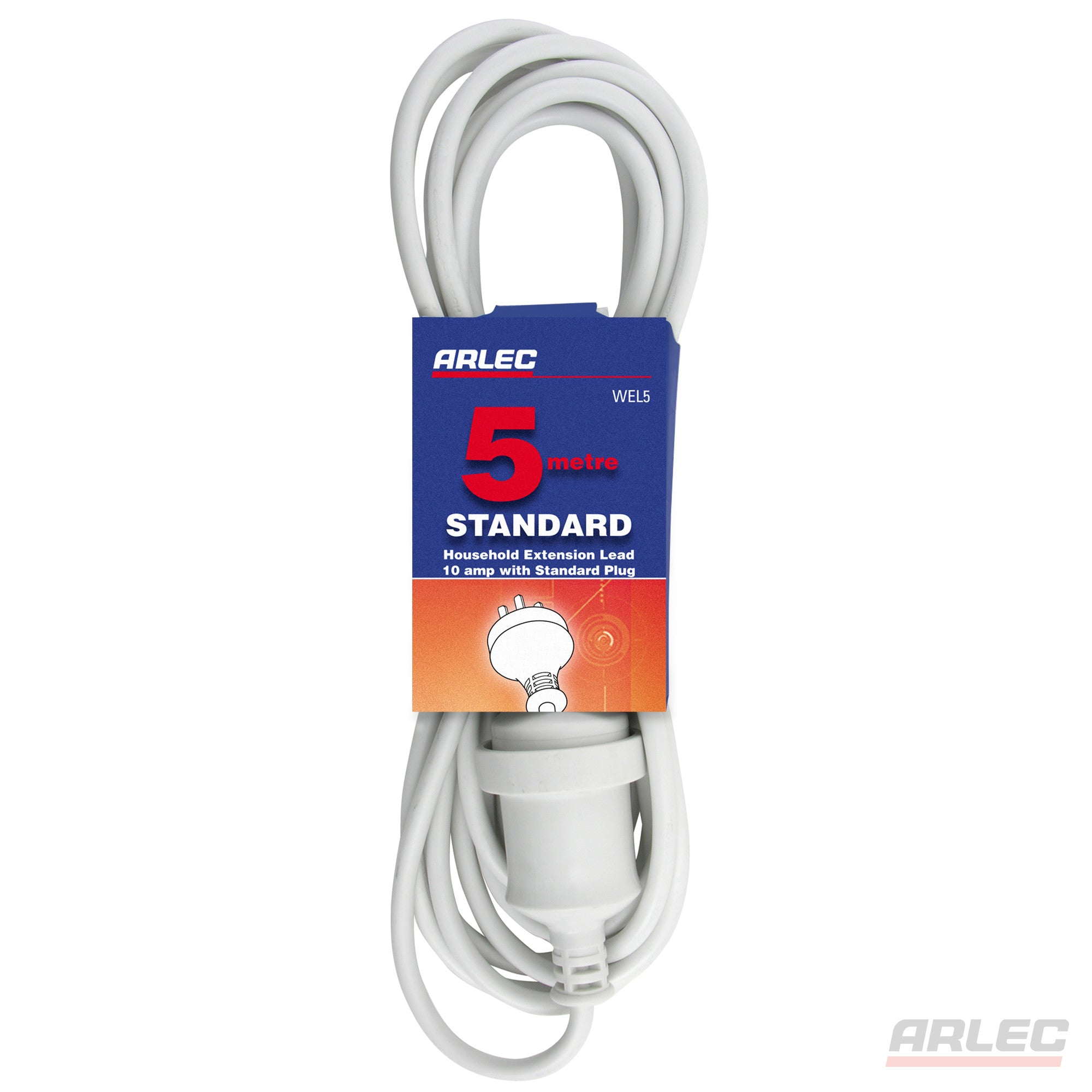 Arlec ARLEC 5 Meter Domestic Extension Lead - WEL5 - BNR Industrial