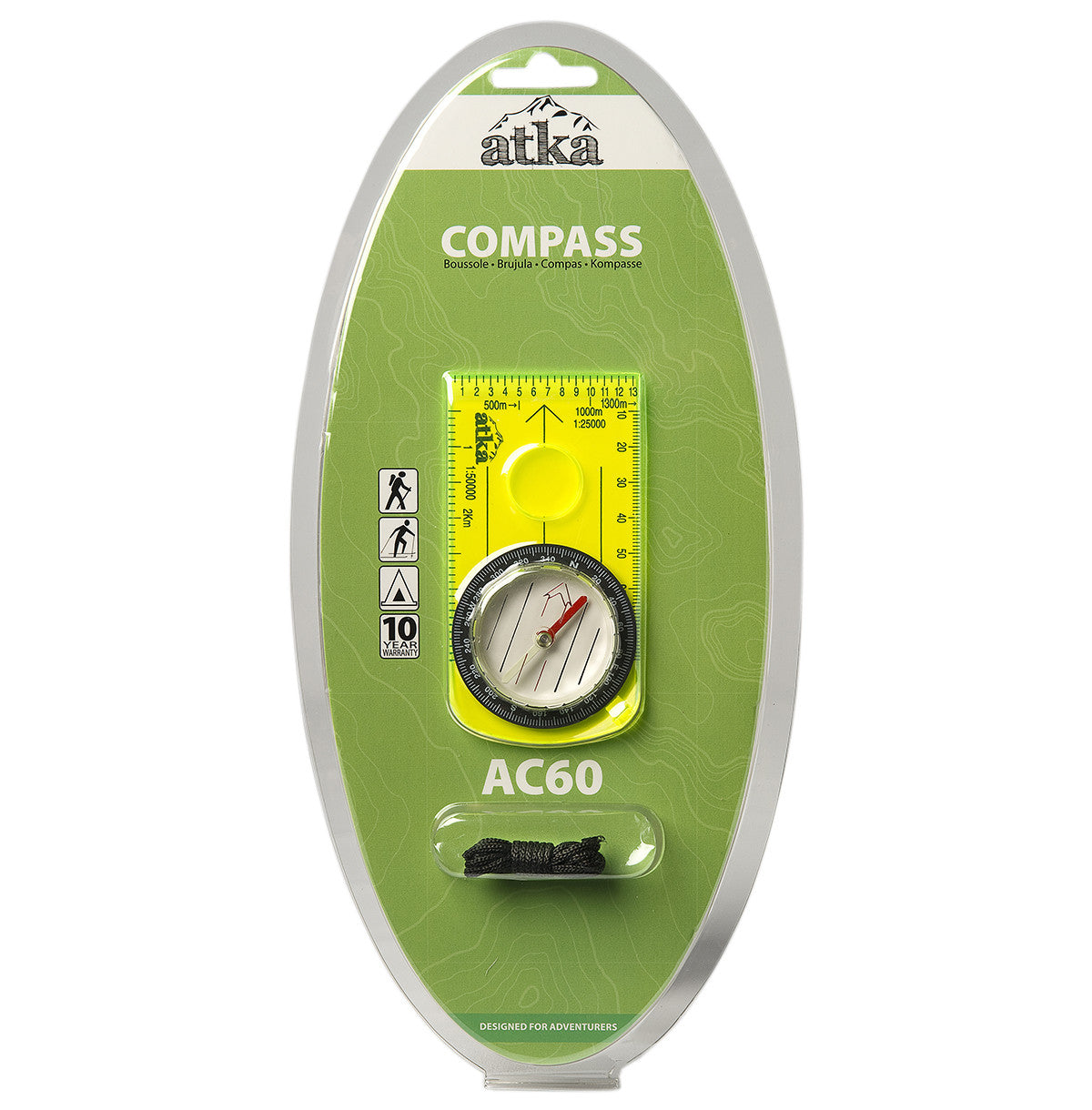 Atka Atka AC60 Baseplate Compass - BNR Industrial