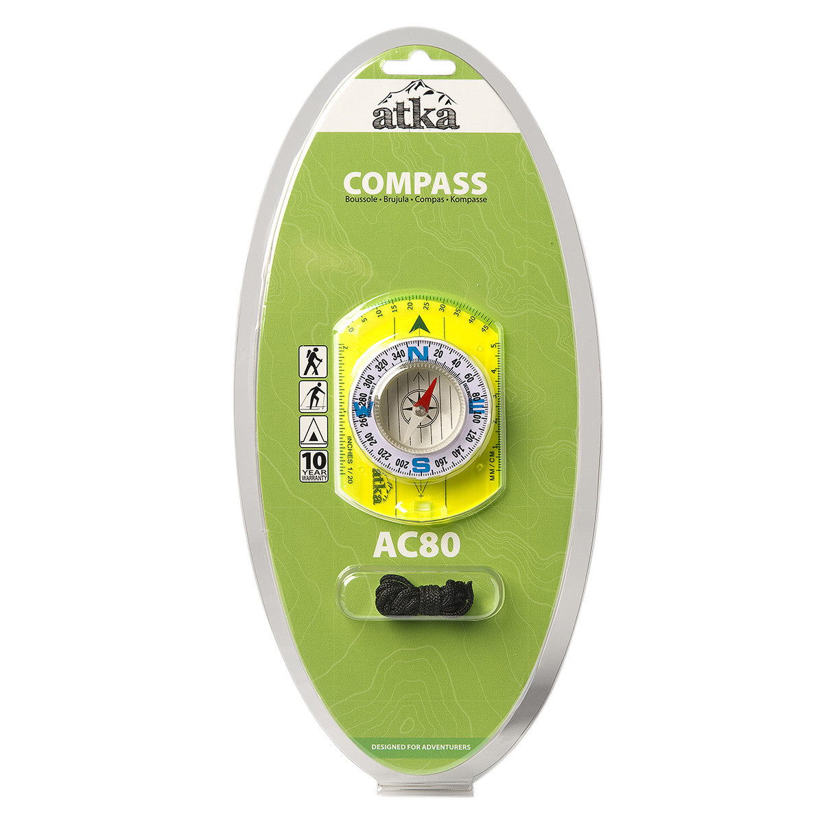Atka Atka AC80 Baseplate Compass - BNR Industrial