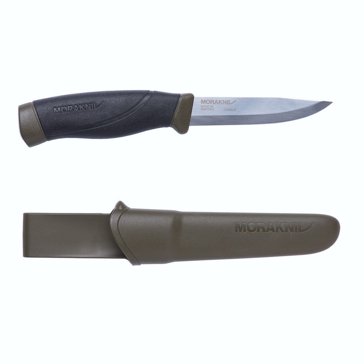 Morakniv Morakniv Heavy Duty MG Companion Olive/Black Outdoor Sports Knife with Clam Sheath - BNR Industrial