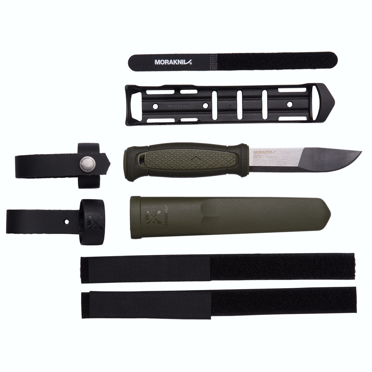 Morakniv Kamnsbol with Clam Sheath and Multi Mount Accessories - BNR Industrial