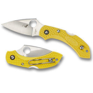 Spyderco Dragonfly 2 Salt Yellow H1 - BNR Industrial