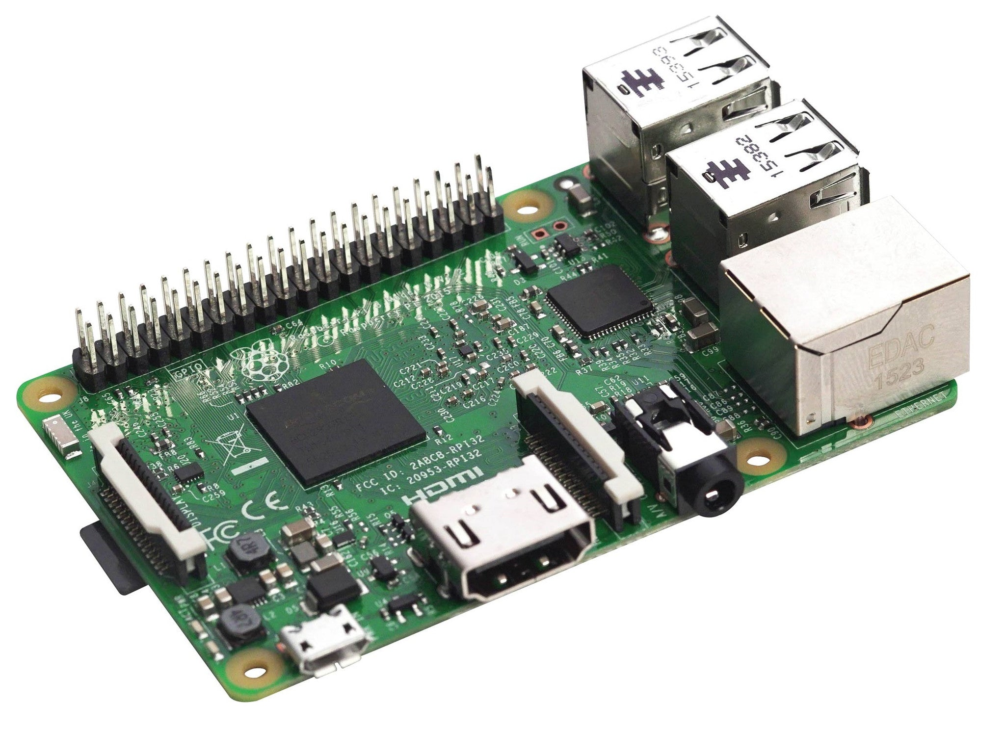 Raspberry New Raspberry Pi 3 Model B - BNR Industrial