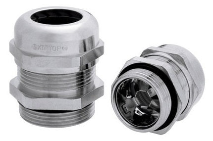 LAPP KABEL SKINTOP® MS-SC-M / SKINTOP® MS-SC-M-XL Nickle-Plated Brass EMC/Earthing Cable Glands