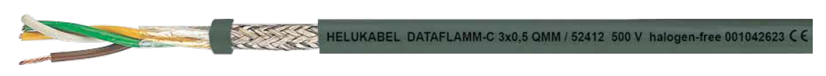 HELUKABEL DATAFLAMM-C EMC Screened, Halogen Free - BNR Industrial