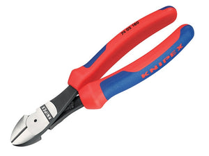 KNIPEX Diagonal Type Wire Cutters, 200mm Overall Length - BNR Industrial - 1