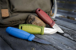 Morakniv Eldris Red Outdoor Knife with Clam Sheath - BNR Industrial