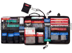 Survival Emergency Solutions Vehicle First Aid Kit - BNR Industrial
