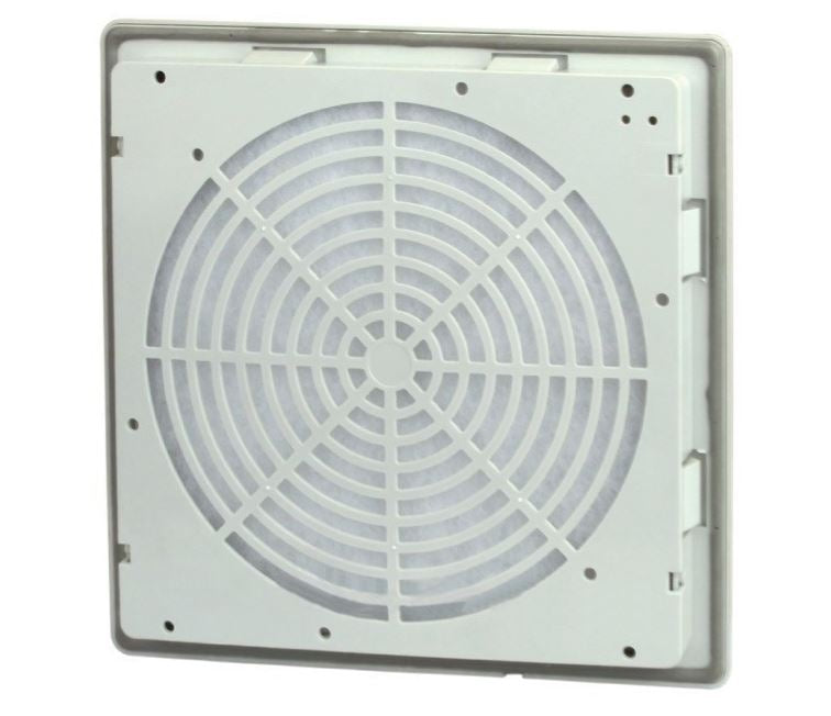 LINKWELL LINKWELL FK5522.300 Exit Filter, Panel Mount, RAL7035, IP54, 150x150mm - BNR Industrial