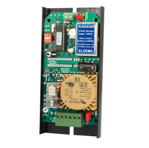 ELSEMA GLR43301240, 1 Channel Gigalink™ Series 433MHz Receiver - 240VAC In and Out - BNR Industrial