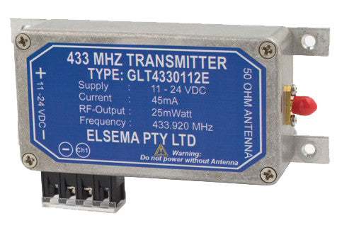 ELSEMA ELSEMA Long Range, GIGALINK™ Series 433MHz Base Station Transmitter - BNR Industrial