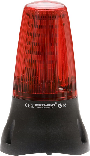 MOFLASH MOLEDA 125 LED Beacons with Buzzer - BNR Industrial