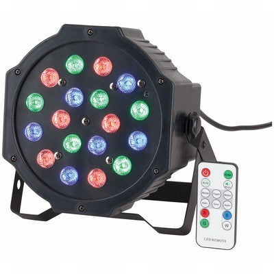 BNR 18 x 1W RGB LED Par Stage Light - BNR Industrial