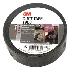 3M 1900 PE Coated Duct Tape 50mm x 50m x 0.17mm