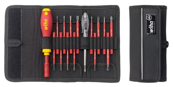 wiha slimvario 16pc vde screwdriver set bnr industrial. Black Bedroom Furniture Sets. Home Design Ideas