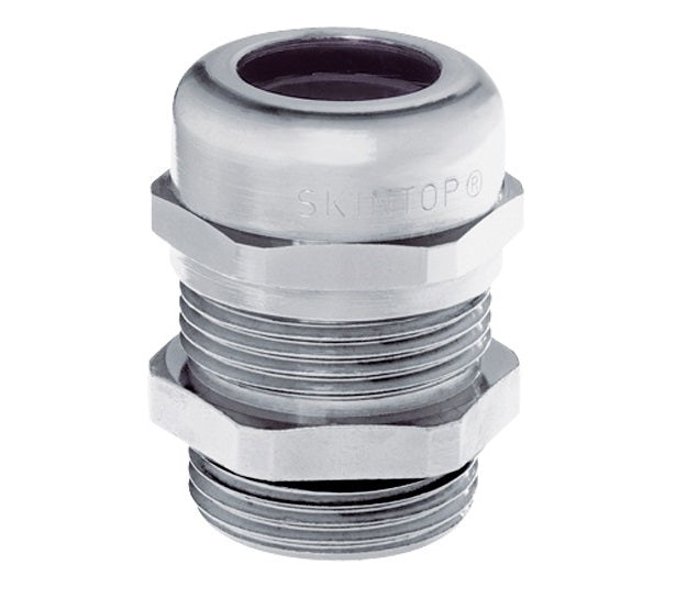 LAPP KABEL LAPP KABEL SKINTOP® MS-M / SKINTOP® MSR-M Nickle-Plated Brass Cable Glands - BNR Industrial