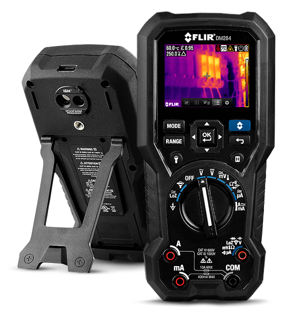 FLIR DM284 Thermal Imaging Multimeter - BNR Industrial