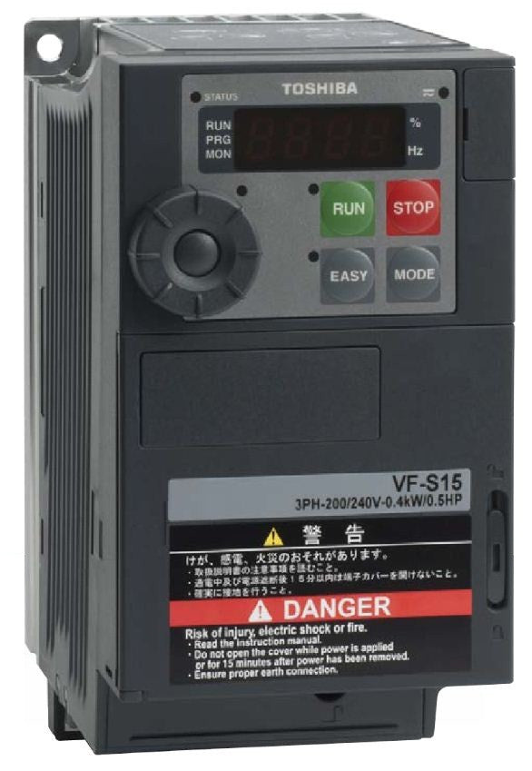 Toshiba TOSHIBA VF-S15 Series VSD Drives - BNR Industrial
