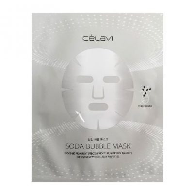 Mascarilla Facial Soda Bubble Mask