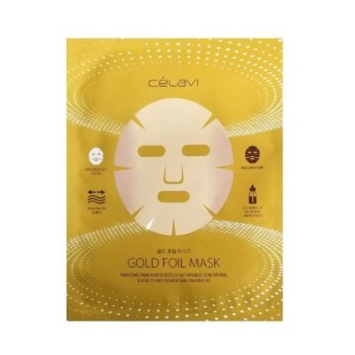 Mascarilla Facial Gold Foil Mask