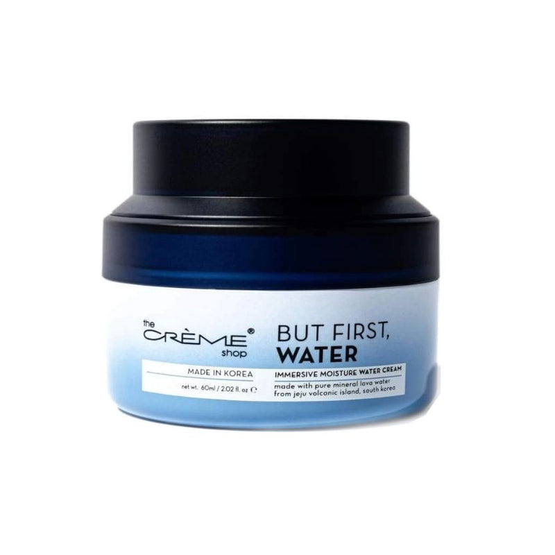 Crema de Agua Humectante Inmersiva «But First, Water»