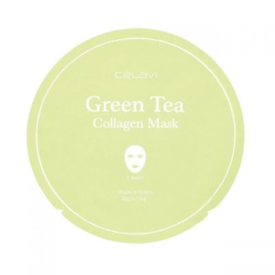 Mascarilla de Colágeno Green Tea