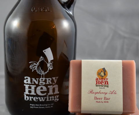 Angry Hen Raspberry Ale Beer Bar