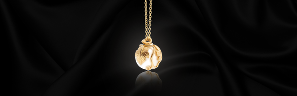 An Armenian Take on the Classic Pearl Pendant