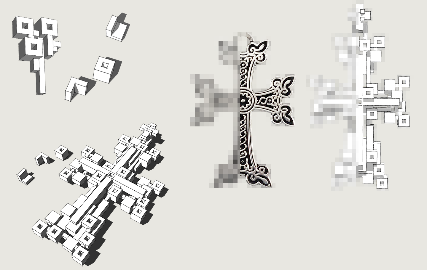 Armenian Cross Structure