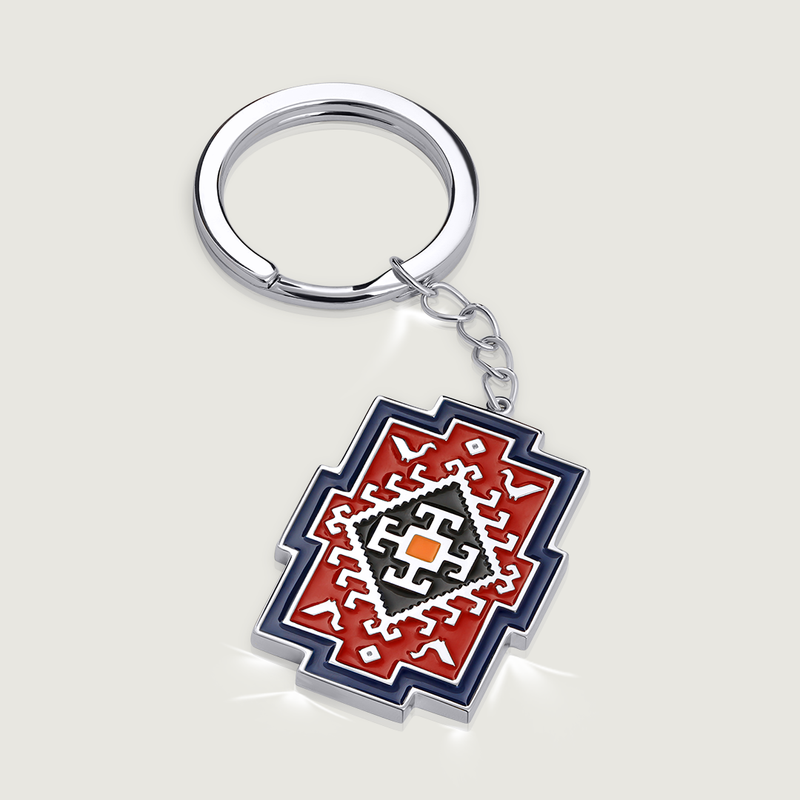 Armenian Carpet Keychain