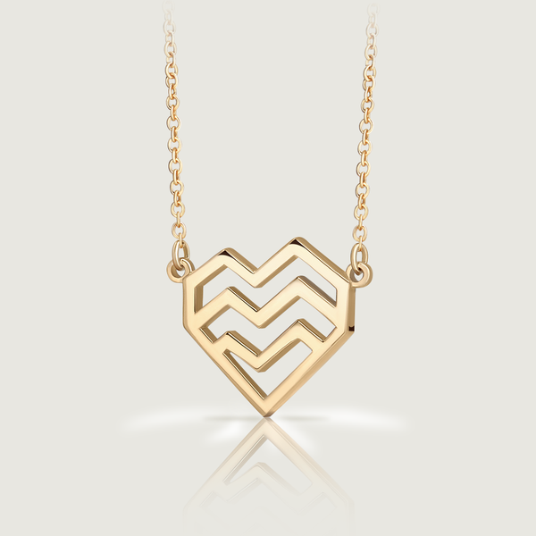Gold Ararat Heart Necklace II