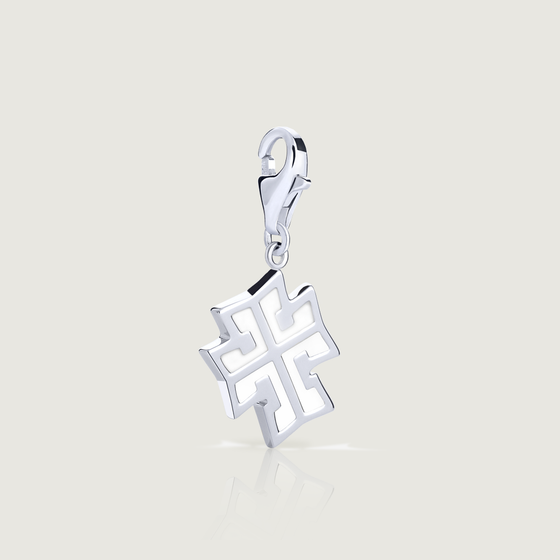 White Cross Charm - Preorder