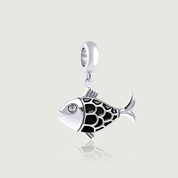 Black Fish (Dzukik) Charm