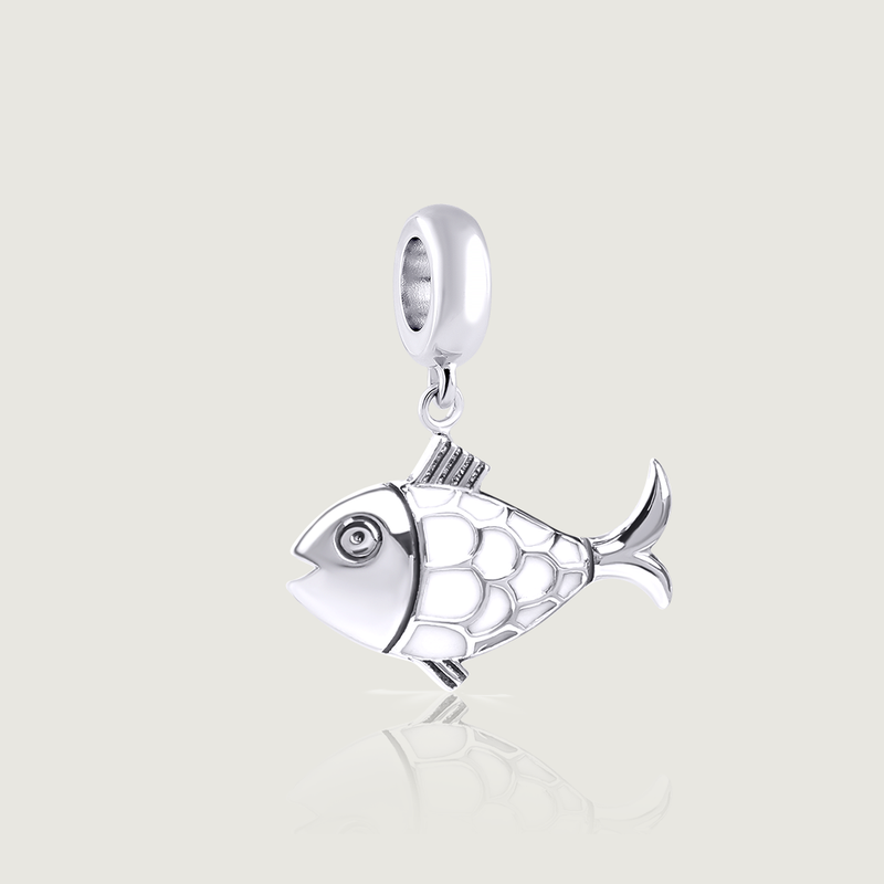 White Fish (Dzukik) Charm