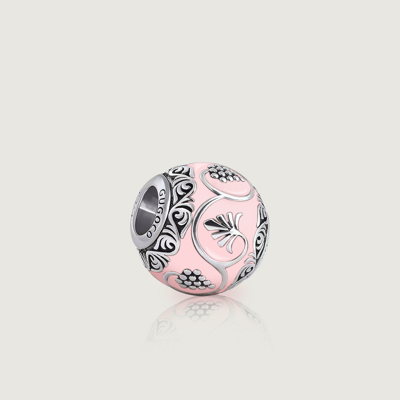 Pink Grape Ornament Charm