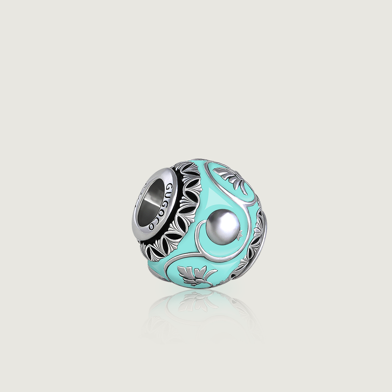 Turquoise Pomegranate Ornament Charm